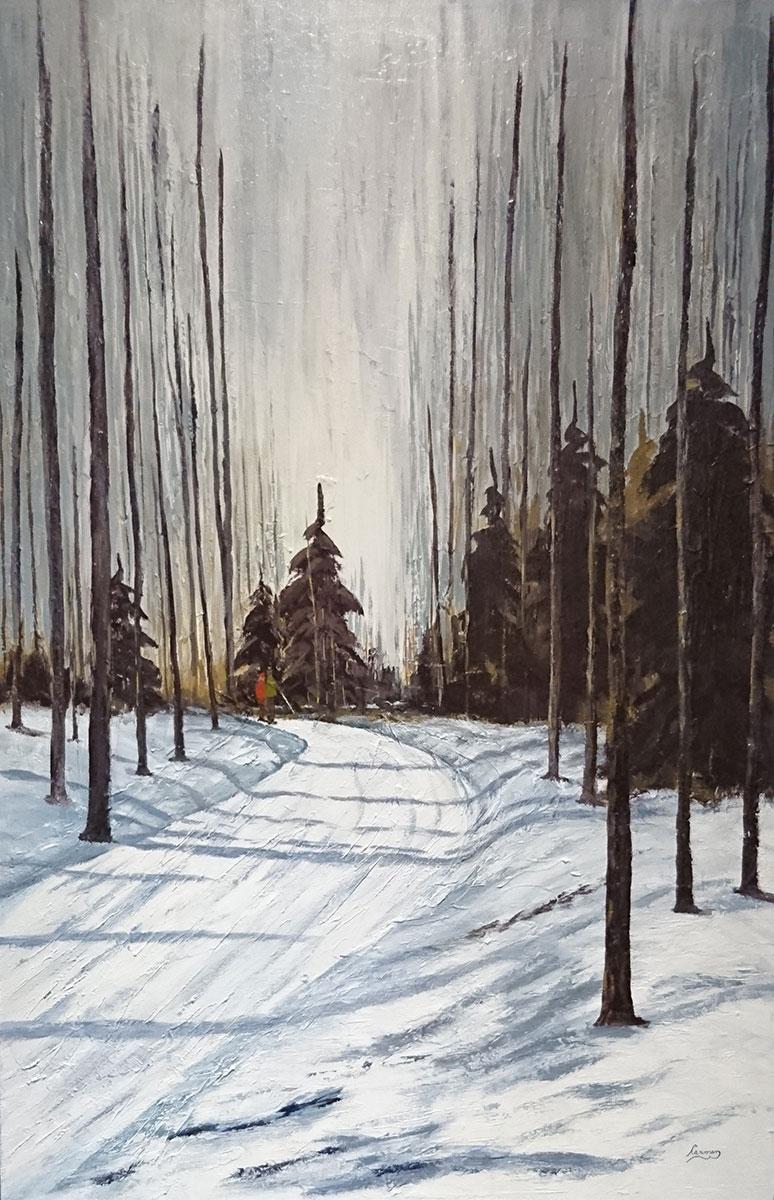 Petite pause en forêt