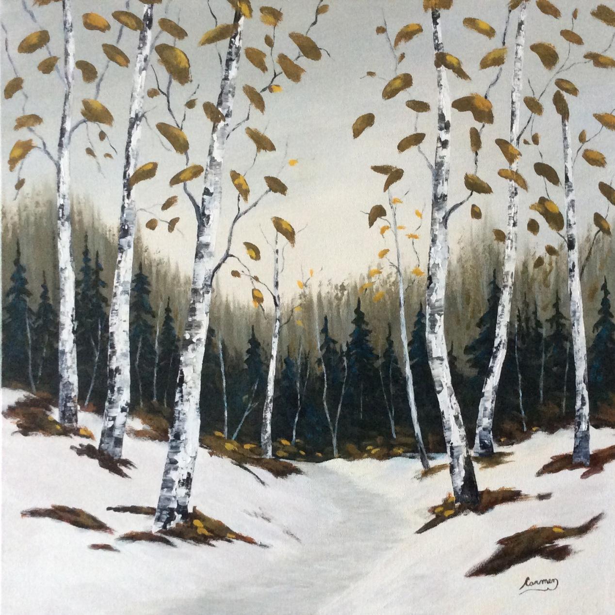 Un doux début d'hiver