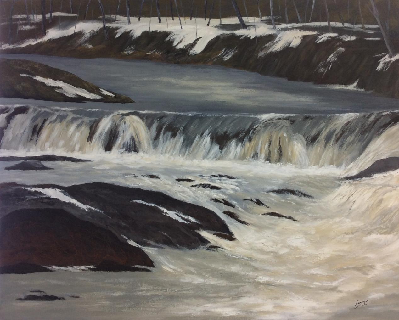 Rivière Beaurivage au printemps